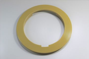 GPO Topaz Yellow Plain Telephone Dial Surround